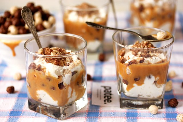 Творожный десерт со сгущёнкой