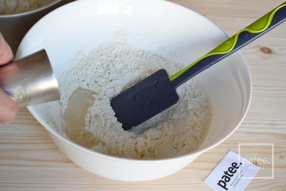 Тесто для чебуреков