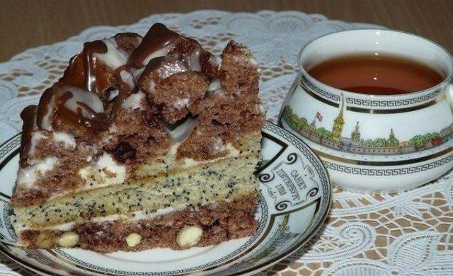 торт екатерина рецепт с фото