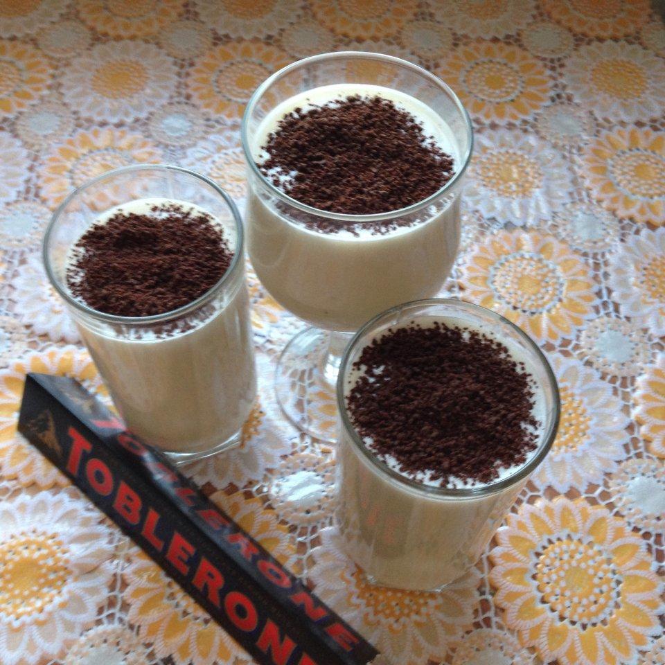 Молочный коктейль с шоколадной крошкой!!!