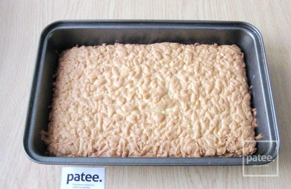 Песочный пирог с апельсиновым джемом