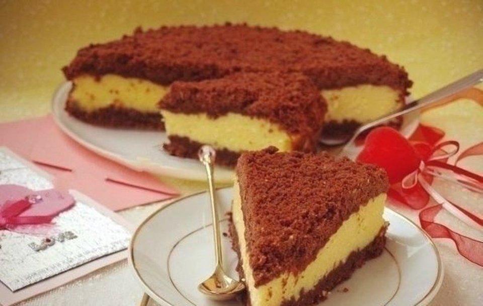 Творожный торфяной пп пирог