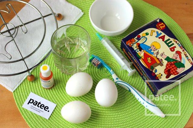 Как сделать сувенирное пасхальное яйцо в крапинку
