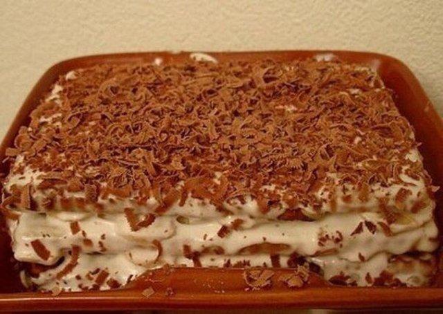 Пошаговый рецепт торта из печенья без выпечки с фото - ИзыскON