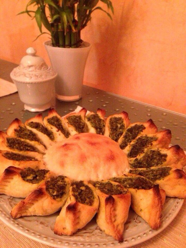 Пирог с шпинатом
