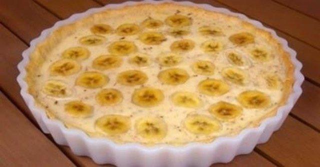 Быстрый банановый пирог