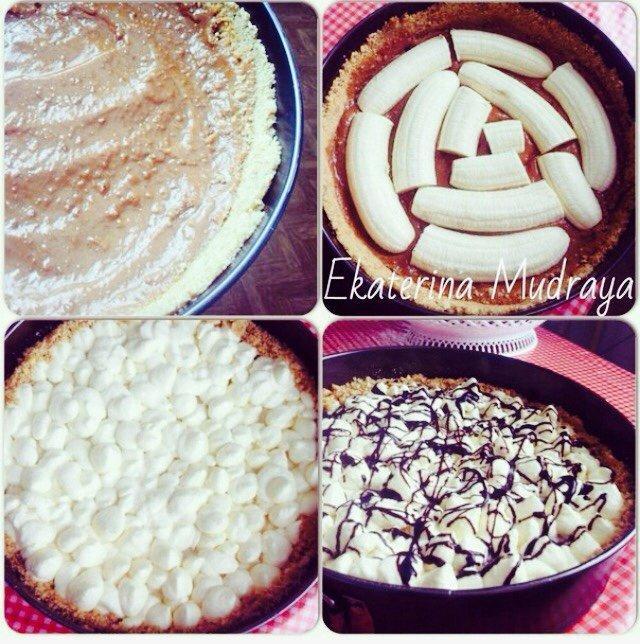Banoffee pie - настоящее банановое блаженство