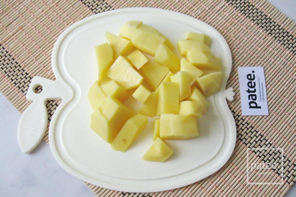 Вегетарианский борщ со свежей капустой