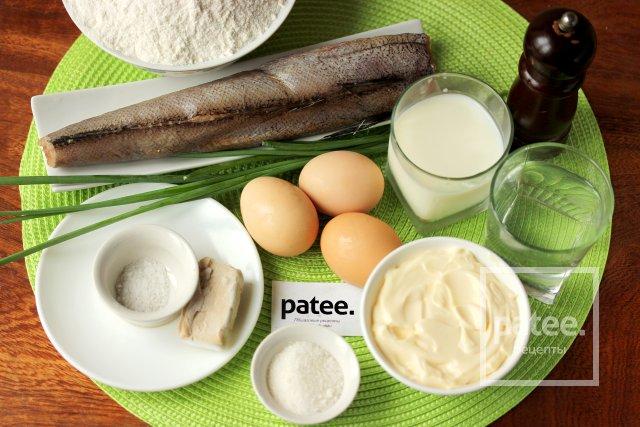 Пирожки с рыбой и яйцом в духовке