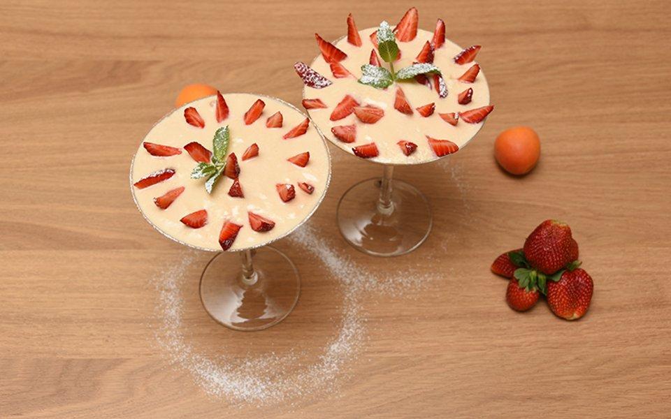 Десерт из ряженки с использованием заквасок Oursson