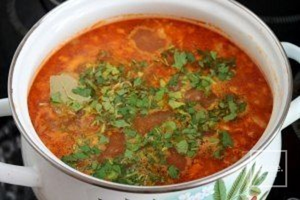 Суп харчо особый