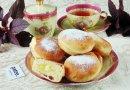 Пончики Сувганиёт вместе с заварным кремом