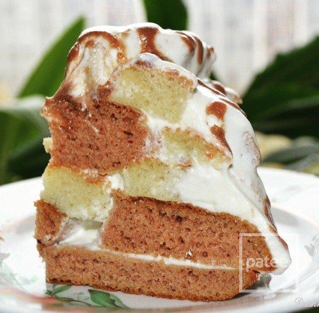 торт графские развалины классический рецепт с фото