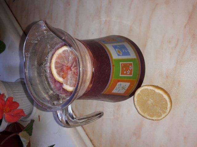 Смородиновый лимонад