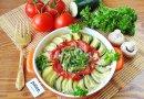 Овощная шарлотка со сметаной