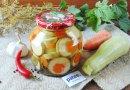 Маринованные кабачки не без; морковью бери зиму