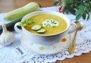 Суп-пюре  со цуккини равно кабачком