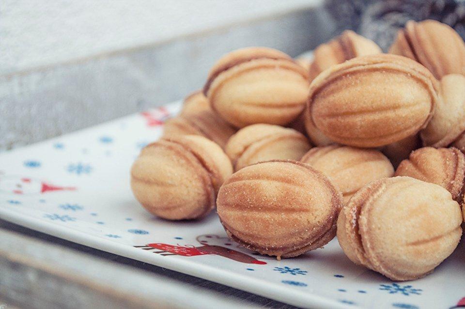 орешки печенье сгущенкой