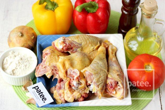 Курица в соусе лечо в мультиварке