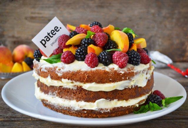 торт из ягод рецепт