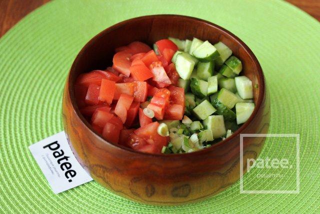 Салат с сухариками рецепт калорийность 91
