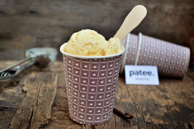 Классическое сливочное мороженое