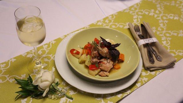 Кролик в белом вине рецепт