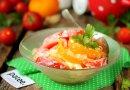 Салат изо помидоров не без; сыром