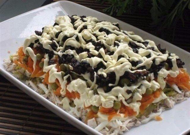 вкусный салат ☺️☺️