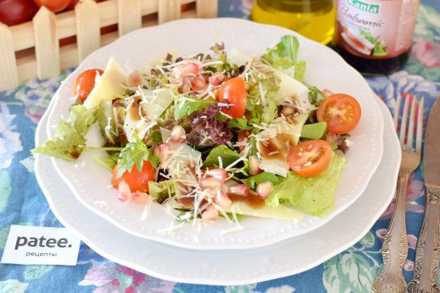 Овощной салат по-критски
