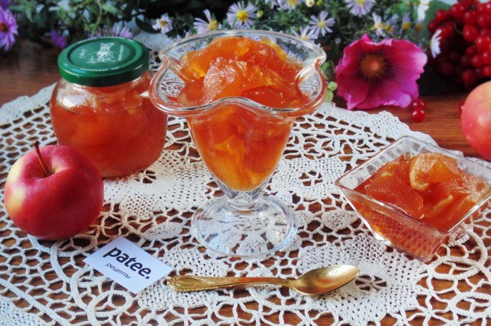 Яблочное варенье Янтарь