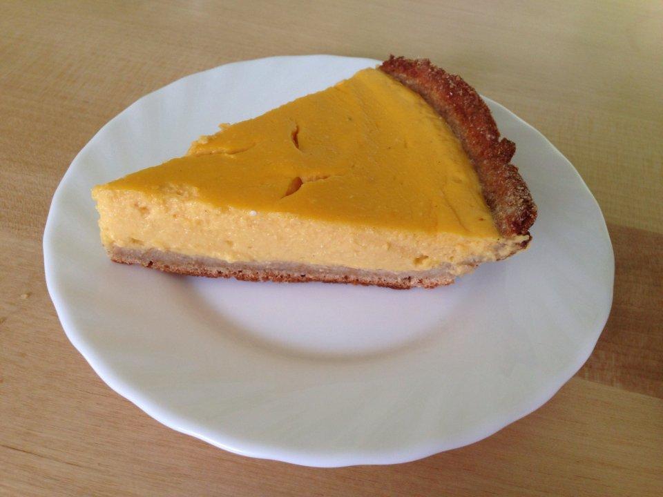 Диетический тыквенный пирог