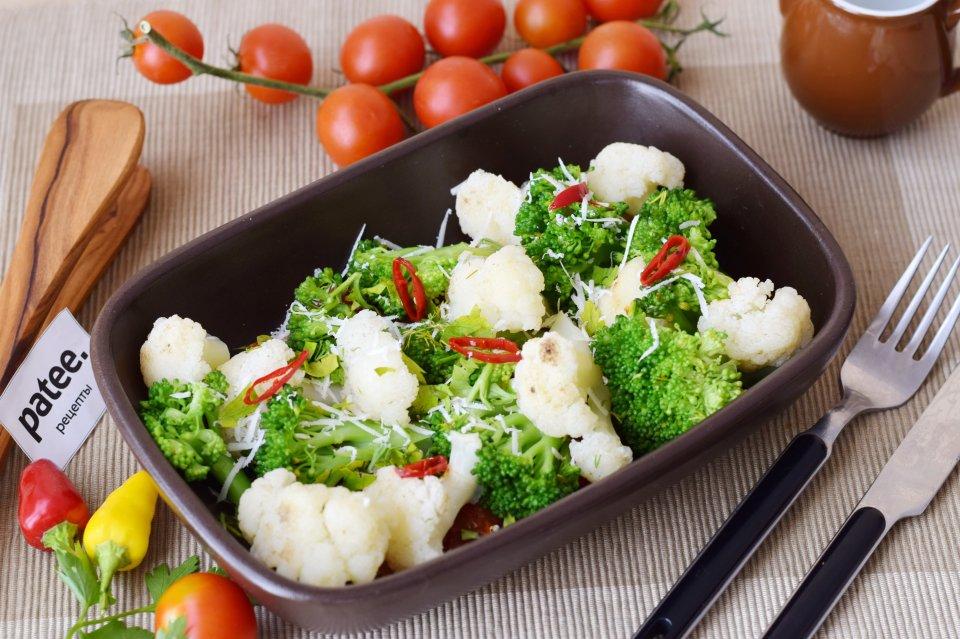брокколи и цветная капуста рецепты