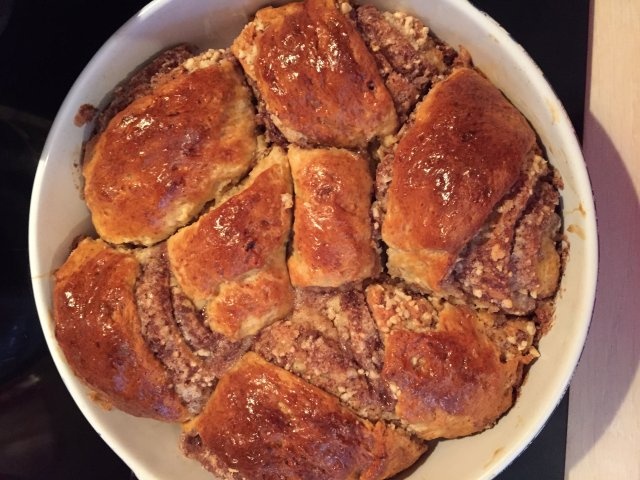 булочки с арахисом рецепт с фото