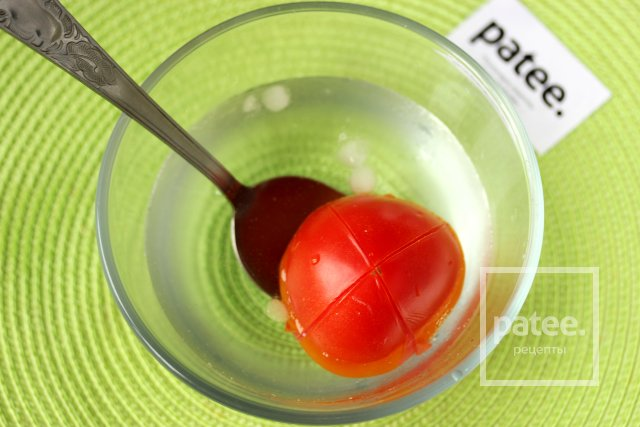 Как снять кожицу с помидора