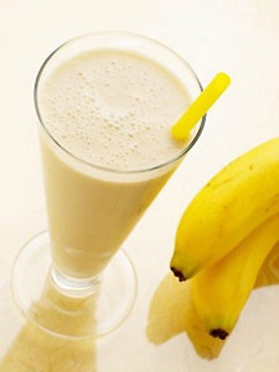 Молочный банановый коктель