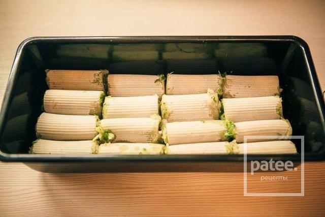 Макароны начиненные фаршем рецепт с фото