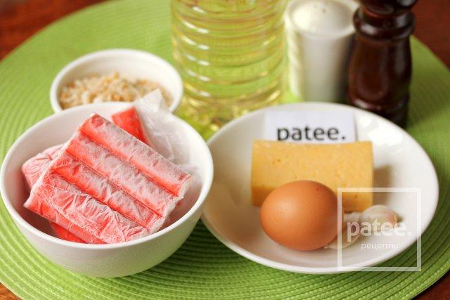 рецепт приготовления котлет из крабовых палочек