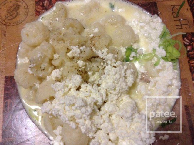 ПП запеканка с курицей и цветной капусты