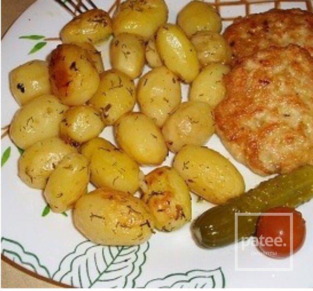 Картофель запечённый в пакете - Шаг 4