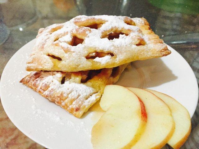 как сделать слойку с яблоками