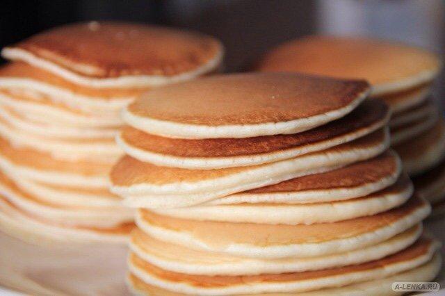 Панкейки/блинчики к завтраку