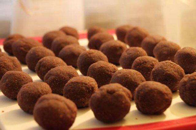 Шоколадная картошка из печенья рецепт