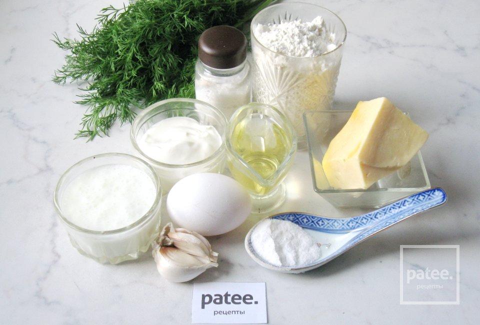 Оладьи с сыром и укропом