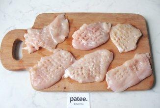 рецепты куриная грудка с грибами и сыром