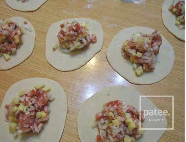 Манты с мясом и картошкой