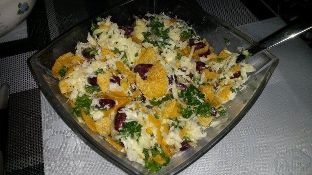 берлинский салат с сердцем рецепт