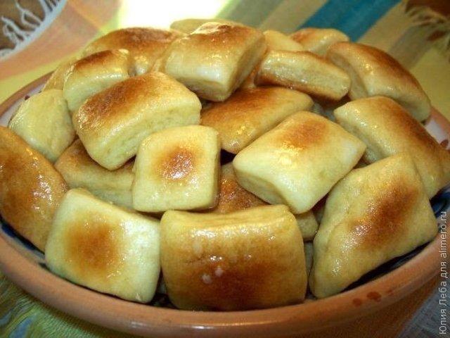 пампушки с чесноком рецепт на сковороде