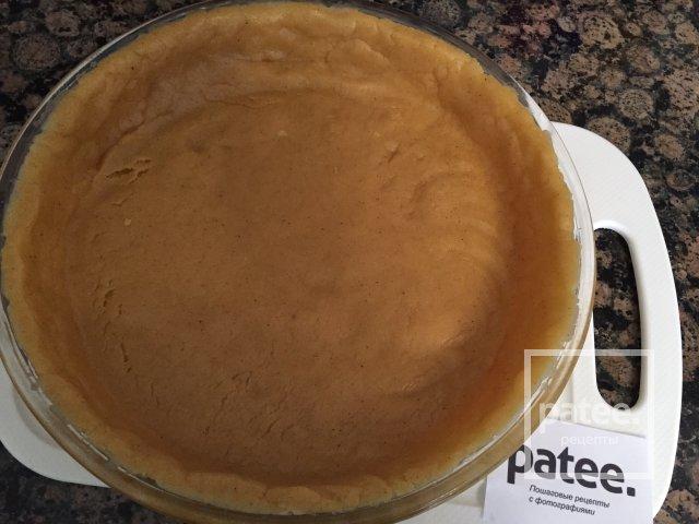 Песочный пирог с ежевикой