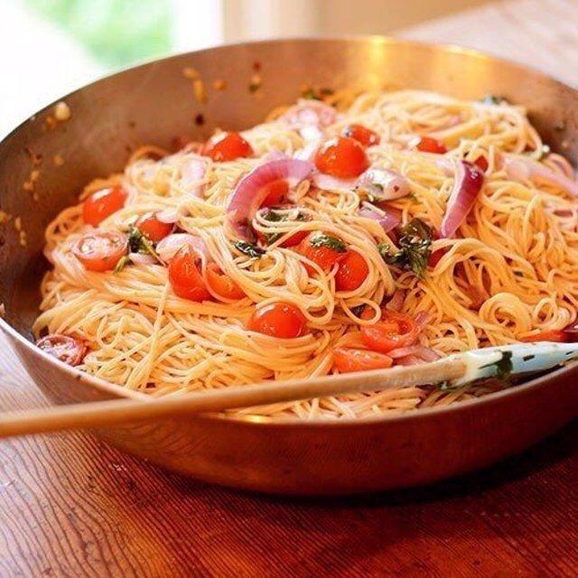 Рецепт пасты с томатами